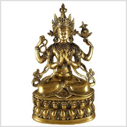 Avalokiteshvara Chenrezig 36cm 3,8kg Vorderansicht