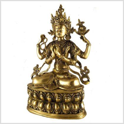 Avalokiteshvara Chenrezig 36cm 3,8kg Seitenansicht links