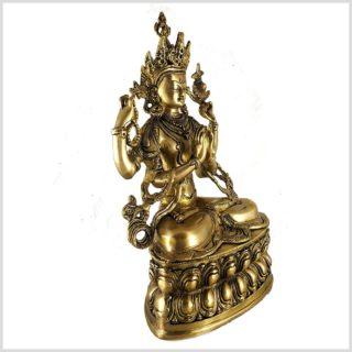 Avalokiteshvara Chenrezig 36cm 3,8kg Seitenansicht rechts