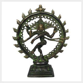 Shiva im Feuerkreis klein Vorderansicht
