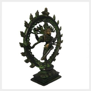Shiva im Feuerkreis klein Seitenansicht