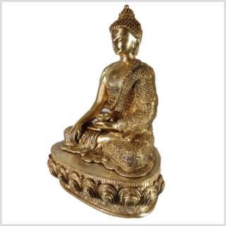 Erdender Buddha Diamantenschnitt 10,3kg Seite links