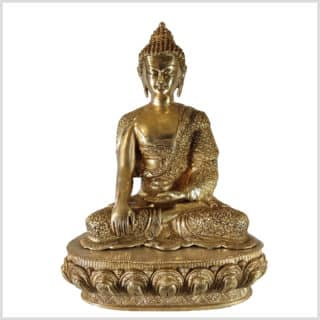 Erdender Buddha Diamantenschnitt 10,3kg Vorne