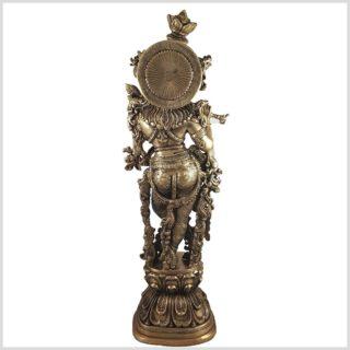 Krishna 55cm 16,3 KG Feine Arbeit Stehend Rücken