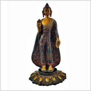 Stehender Buddha rotgold 2,5kg Vorderansicht