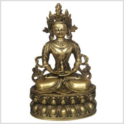 Adibuddha 36cm Messing Vorderansicht