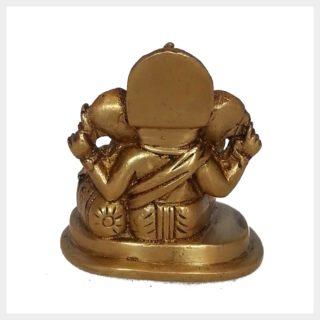 Ganesha sitzend klein Hinten