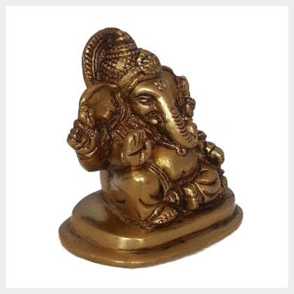Ganesha sitzend klein Seitenansicht
