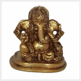 Ganesha sitzend klein Vorderansicht