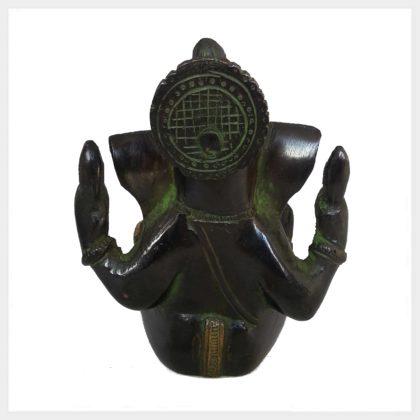 Ganesha 760g grüngold hinten