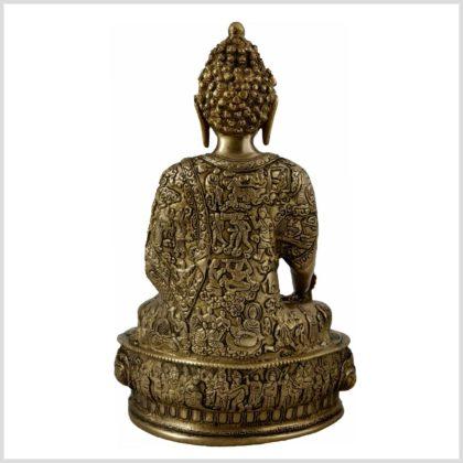 Medizinbuddha Life of Buddha 33cm 4KG Hinten