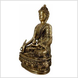 Medizinbuddha Life of Buddha 33cm 4KG Seitenansicht Links