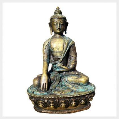 Geweihter Buddha altantik Vorderansicht