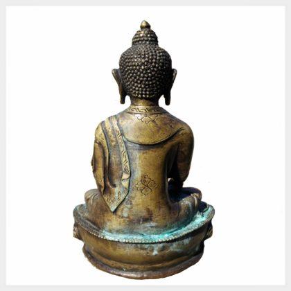 Geweihter Buddha altantik Rücken