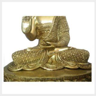 Lehrender Buddha Diamantenbuddha 10,3kg Sockel