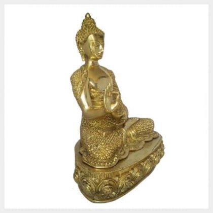 Lehrender Buddha Diamantenbuddha 10,3kg Seitenansicht rechts