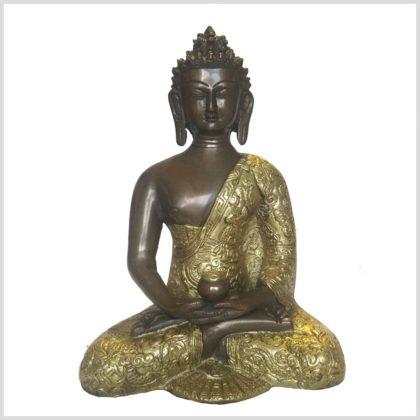 Erleuchtete Buddha Dragon Messing Kupfer Vorne