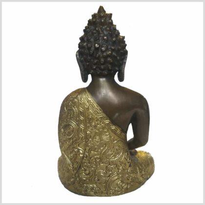 Erleuchtete Buddha Dragon Messing Kupfer Rücken