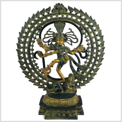 Tanzender Shiva Messing Art Antik 6,6kg