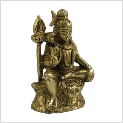 Segnender Shiva Murti Seitenansicht rechts