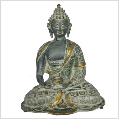 Erleuchteter Buddha 38cm Nepalantik Vorne