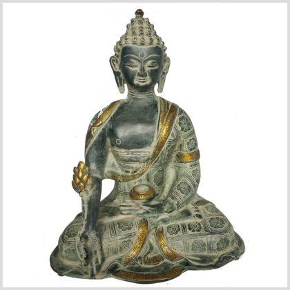 Medizinbuddha 38cm Nepalantik Vorne