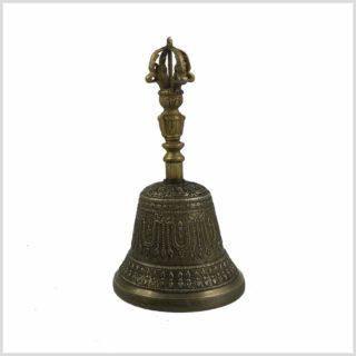 Tibetische Glocke Ghanta 500g Seitenansicht