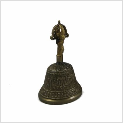 Tibetische Glocke Ghanta 250g Seitenansicht