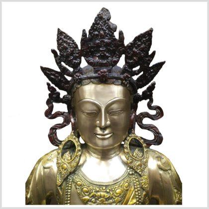 Erleuchteter Buddha - Adibuddha 55cm 28kg Gesicht