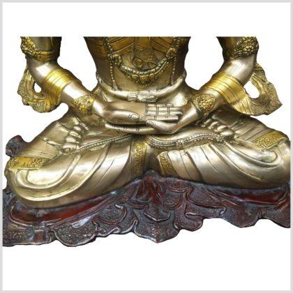 Erleuchteter Buddha - Adibuddha 55cm 28kg Hände