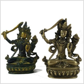Manjushri Messing gelbantik Set