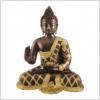Lehrender Buddha 9,6kg Messing Kupfer Vorderansicht