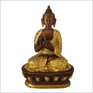 Dharmachakra Buddha verkupfert vorne