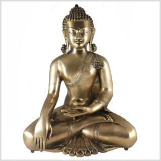 Erdender Buddha Kundal aus Messing 51cm