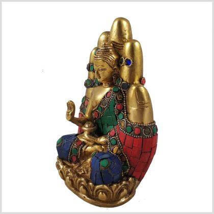 Buddhahand Steinarbeit Seitenansicht Links