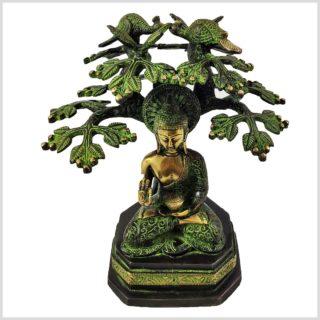 Buddha unterm Bodhibaum Vorderansicht