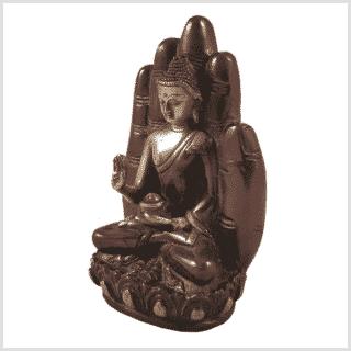 Buddhahand Rotgold Seitenansicht Links