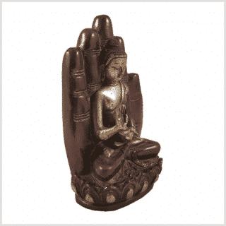 Buddhahand Rotgold Seitenansicht Rechts