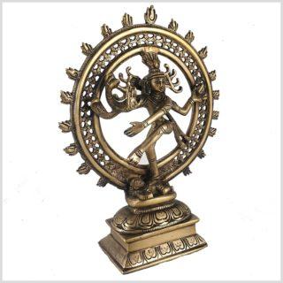 Tanzender Shiva von der Seite links