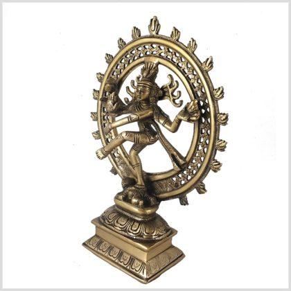 Tanzender Shiva sehr fein Seitenansicht