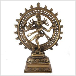 Tanzender Shiva sehr fein Vorderansicht