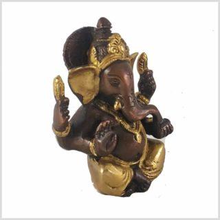Ganesha Messing verkupfer Seite Links