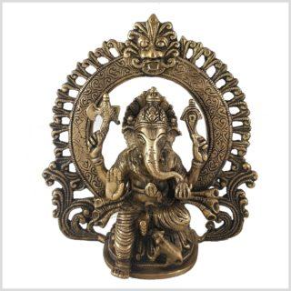 Ganesha im Ring vorne
