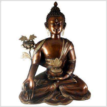 Medizinbuddha 29kg Kupferantik Vorne