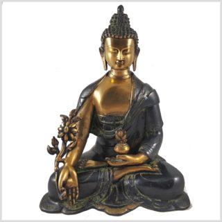 Medizinbuddha grünantik 7,9kg Vorderansicht