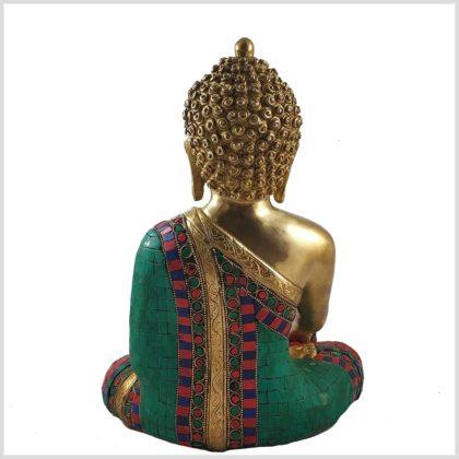 ME-Steinbuddha Medizinbuddha 5 KG Hinten