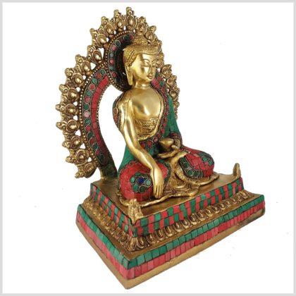 Erdender Buddha Linke Seite