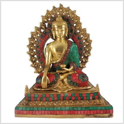 Erdender Buddha Vorne
