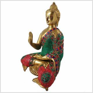 Segnender Buddha Mosaik Seitenansicht