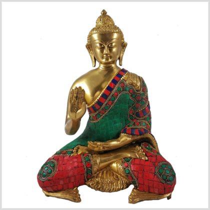 Segnender Buddha Mosaik Vorderansicht